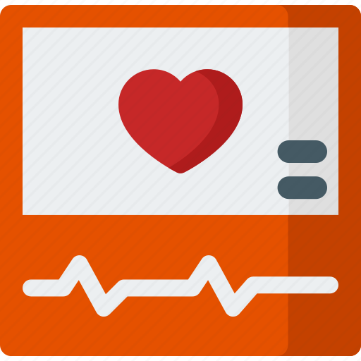 eco, electrocardiogram, health, heart, rate, sign icon