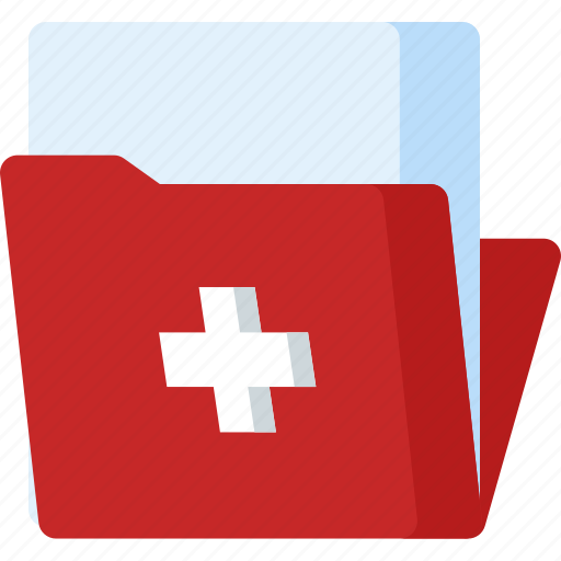 document, folder, health, healthcare, hospital, medical, medicine icon