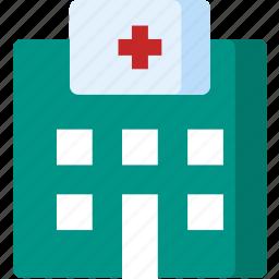 clinic, doctor, health, healthcare, hospital, medicine, treatment icon