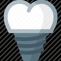 dental, dentist, dentistry, health, implants, teeth, tooth icon