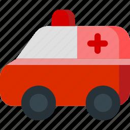 ambulance, clinic, hospital, transport, van, vehicle icon
