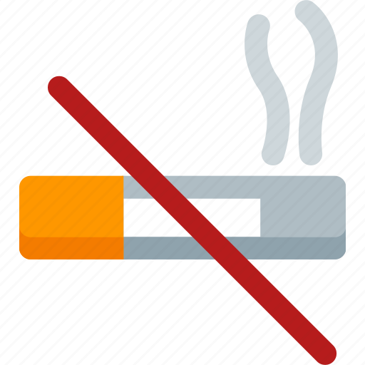 cigarette, error, forbidden, no, smoking, stop, warning icon