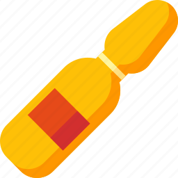 ampoula, ampule, injection, medical, medicine, recovery, treatment icon