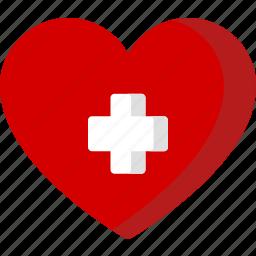 healthcare, heart, hospital, love, medical, medicine, plus icon