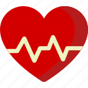 beat, health, healthcare, heart, love, medical, medicine icon