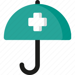 insurance, protection, safe, safety, security, shield, umbrella icon