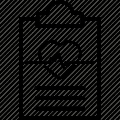 clipboard, diagnosis, healthcare, medical, prescription, report icon