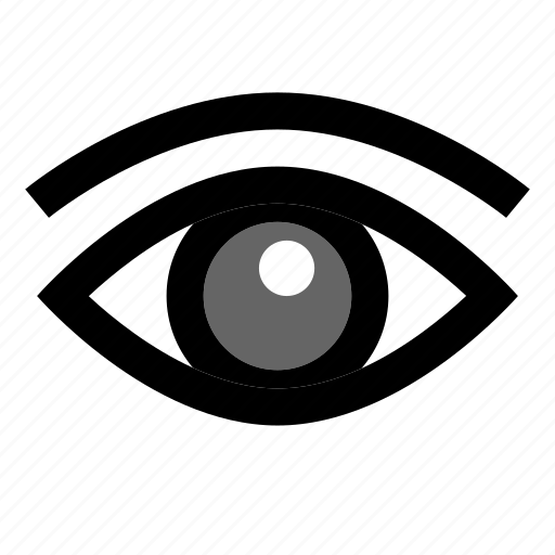 Brows, eye, human, pupil, sight, vision icon - Download on Iconfinder