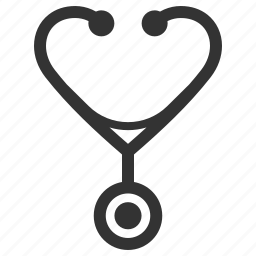 healthcare, medical aid, medical care, stethoscope icon