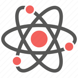 atom, chemistry, lab, molecule, nuclear, physics, science icon