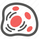 bacteria, biological, biology, cell, microbe, science, virus icon