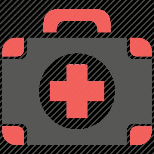 aid, first aid kit, healthcare, hospital, kit, medical, medicine icon