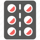 capsule, drugs, medical, medications, medicine, pill, treatment icon