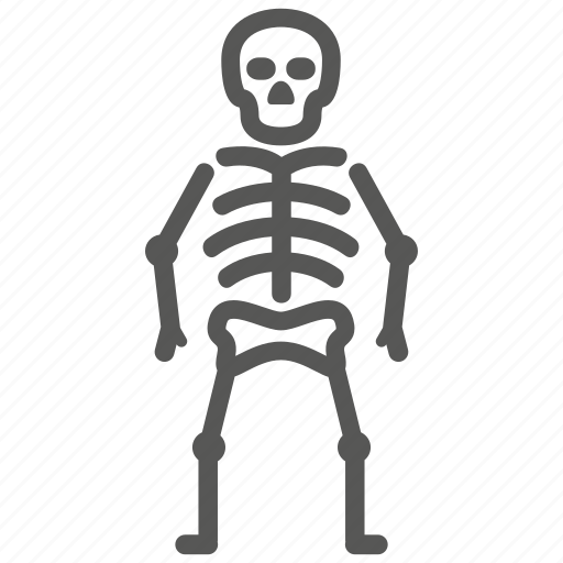 bones, danger, death, halloween, osteology, skeleton, skull icon