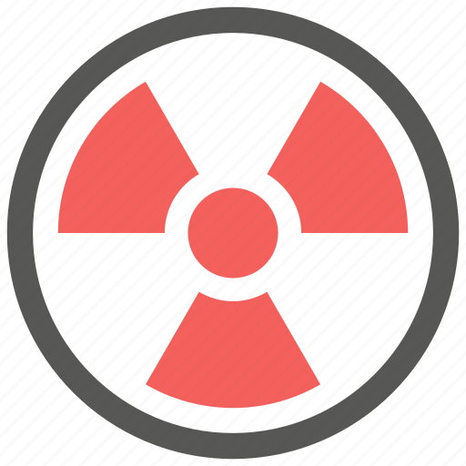 alert, caution, danger, nuclear, radiation, radioactive, warning icon