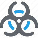 biohazards, biological hazard, danger, health risk icon