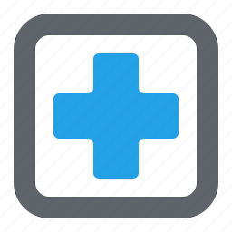 cross, first aid, healthcare, medical help icon