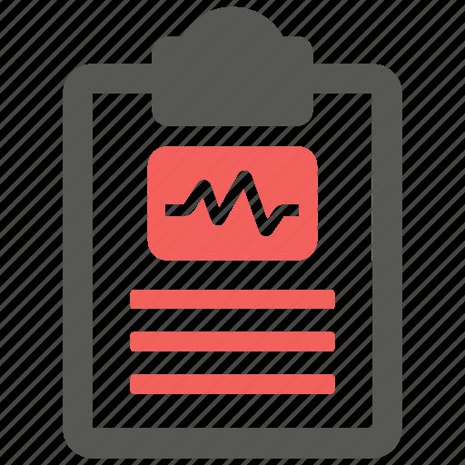 diagnostic, health, report, test icon