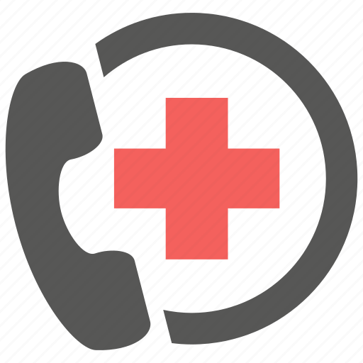 ambulance, call, clinic, consultation, doctor, hospital, support icon