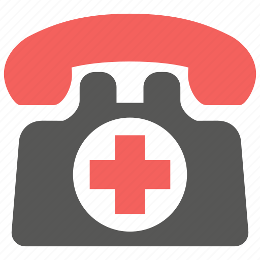 call, emergency, phone, rescue icon