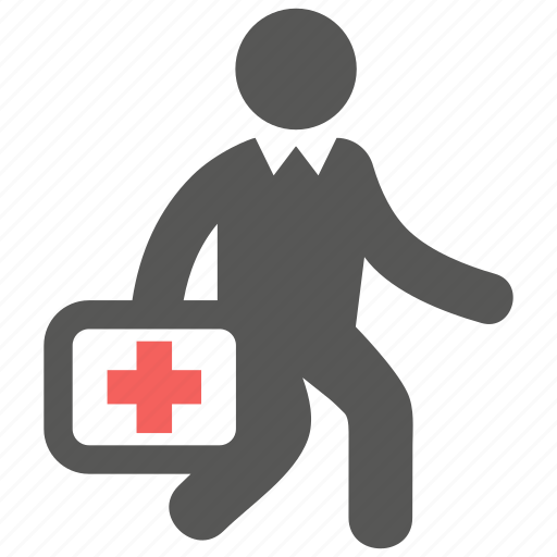 doctor, doctor on duty, emergency, rescue icon