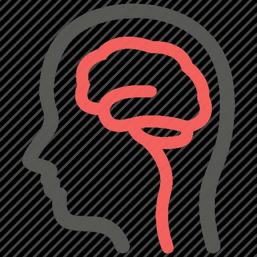 brain, mind, neurology, neuron, neuroscience icon