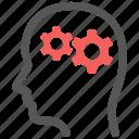 mental health, psychiatry, psychology, thinking icon
