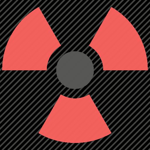 hazard, nuclear, radiation, radioactive, radioactivity icon