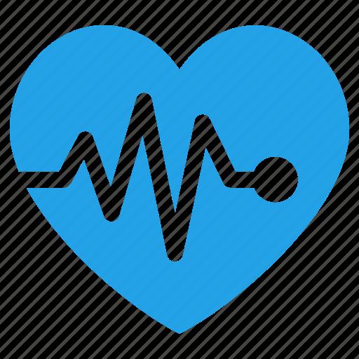 cardiogram, ekg, heart care, heart health, pulse icon