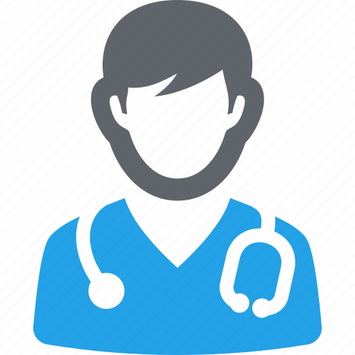 doctor, medical help, physician, stethoscope icon