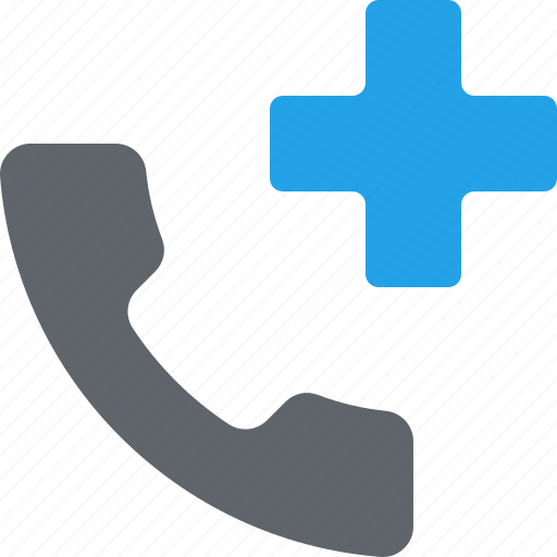 doctor on call, medical assistance, medical consultation, telephone icon