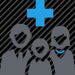 family medicine, healthcare, medical help, pediatrics icon