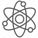 atom, chemistry, lab, molecule, physics, science, test icon