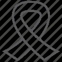 awareness, ribbon, badge, disease, medal, woman