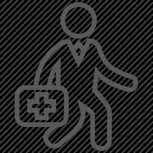 aid, doctor, duty, emergency, healthcare, hospital, medical icon