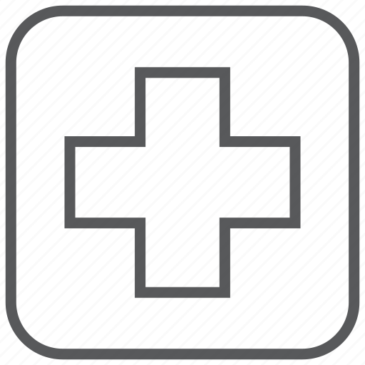 aid, first, health, kit, medical, medicine icon