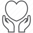 care, heart, love, medical, romance, valentine, wedding icon