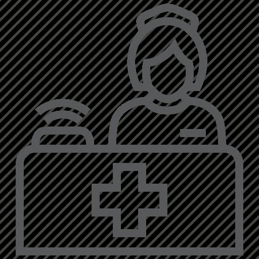 emergency, healthcare, hospital, medical, nurse, service, services icon