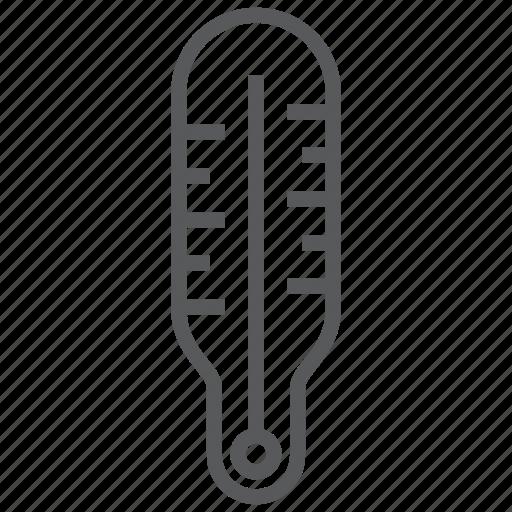 celsius, degree, fahrenheit, fever, temperature, thermometer icon