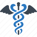 caduceus, health care, healthcare, snake icon