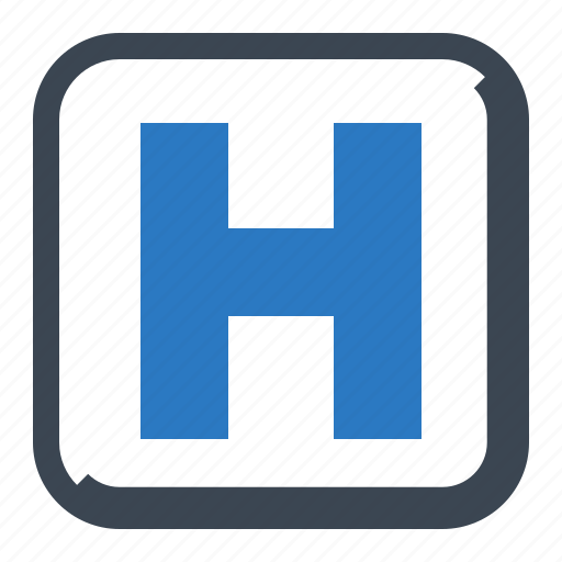 health care, healthcare, hospital sign icon