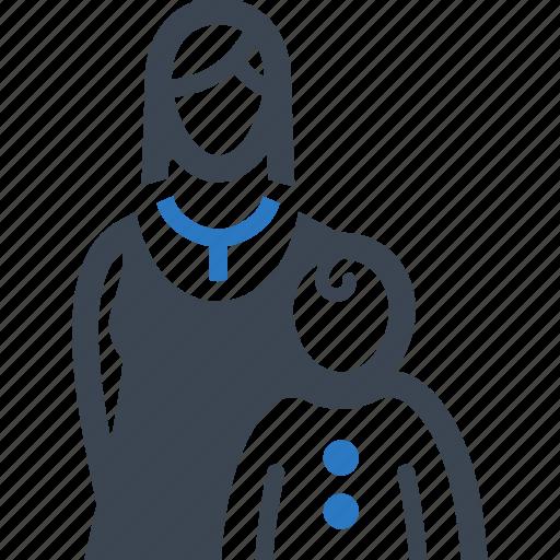 child care, healthcare, mother, pediatrics icon