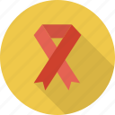 awareness ribbon, breast cancer, ribbon icon icon