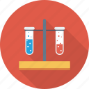 blood, test, test tubes icon icon