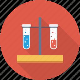 blood, test, test tubes icon icon