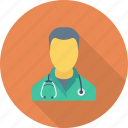 doctor, doctor avatar, medical assistant, physician, surgeon icon icon
