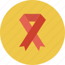 awareness ribbon, breast cancer, ribbon icon icon