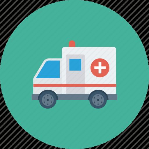 ambulance, emergency, first aid icon icon