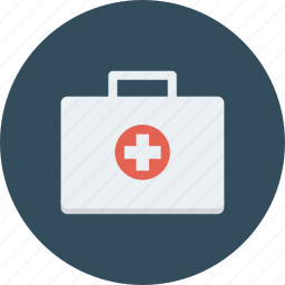 bag, first, help, medical icon icon