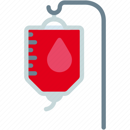 bag, blood, hospital, medical, transfusion icon